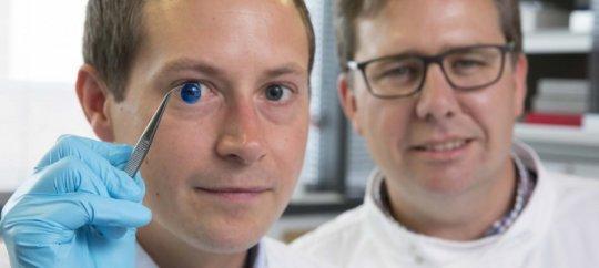 研究人員成功利用3D打印機打印眼角膜