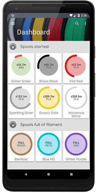 讓你輕鬆管理3D打印物料的手機App