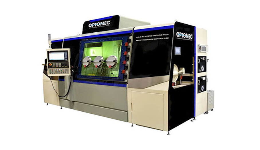 混合式金屬3D打印機?