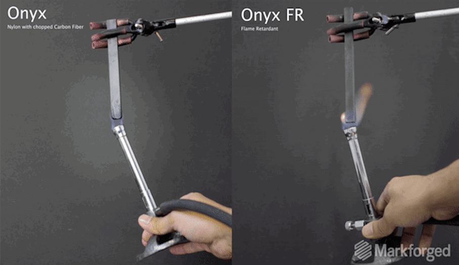 能自行停止燃燒的3D打印物料