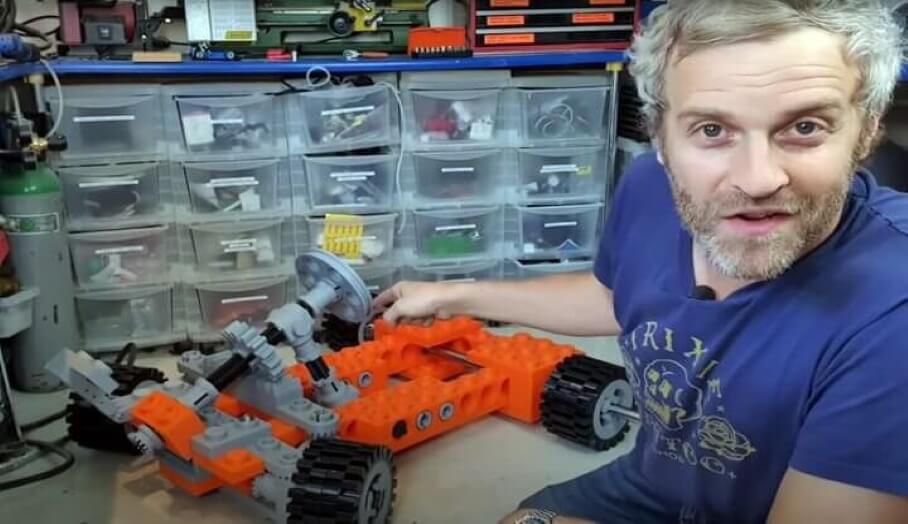 3D打印加大碼Lego賽車