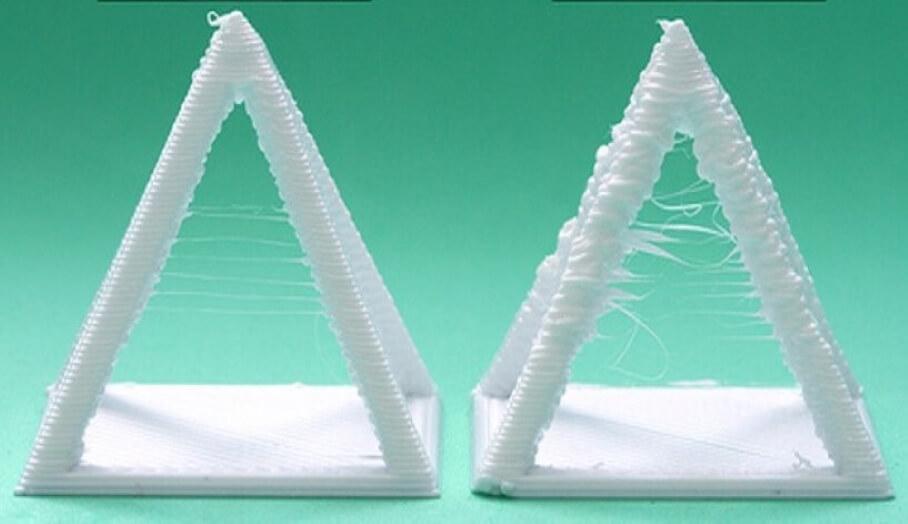 如何在3D打印軟件中設定去解決3D打印時有拉絲(Stringing)問題?