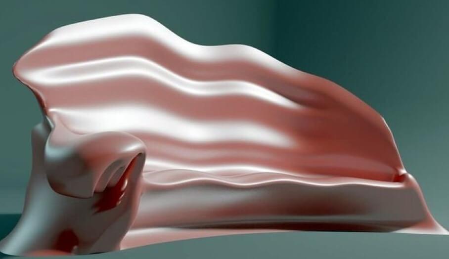 仿生學3D打印梳化