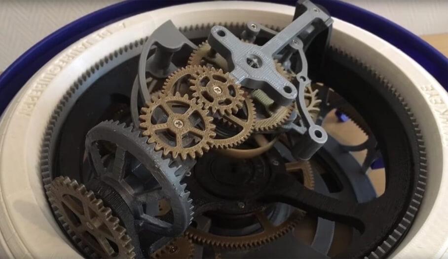 3D打印三軸陀飛輪