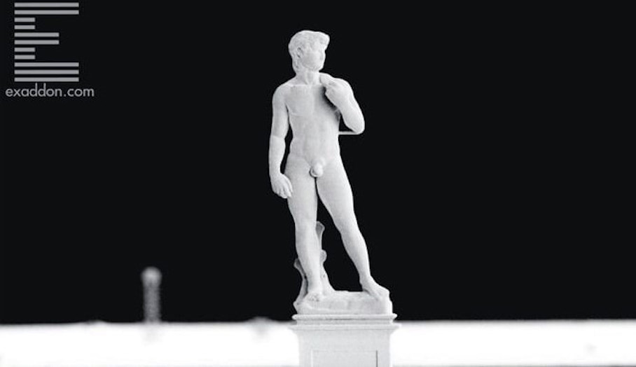 3D打印微觀金屬模型?