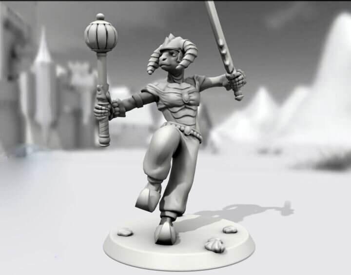 完全可自定人物角色的3D打印小雕像