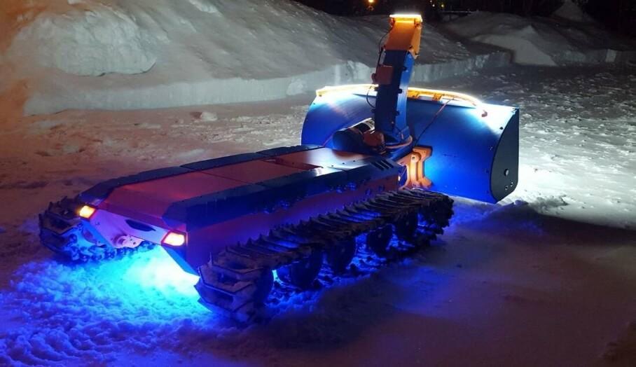 3D打印清雪機?