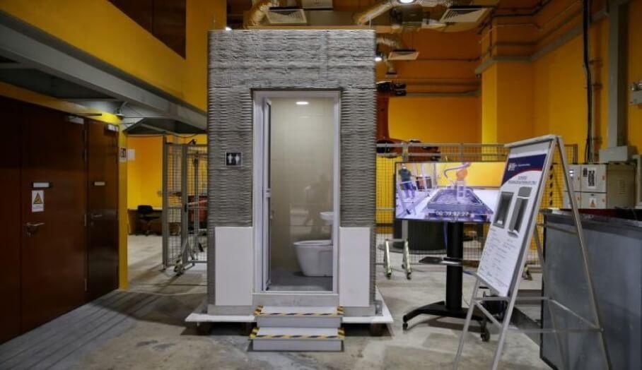 3D打印廁所一天內就成型?