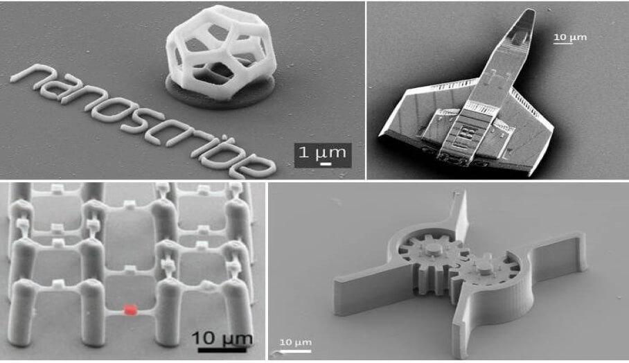 3D打印肉眼也看不見的納米級模型?