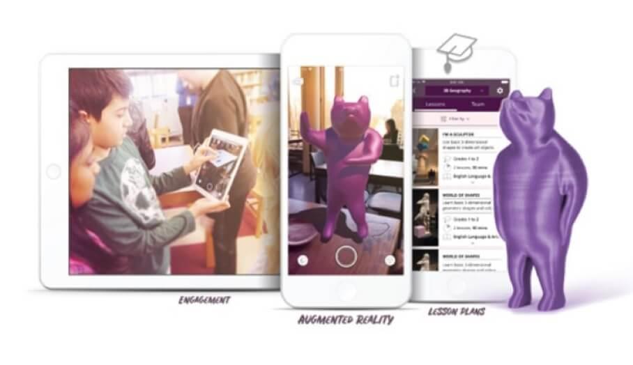 讓小朋友了解3D設計及擴增實境的手機App