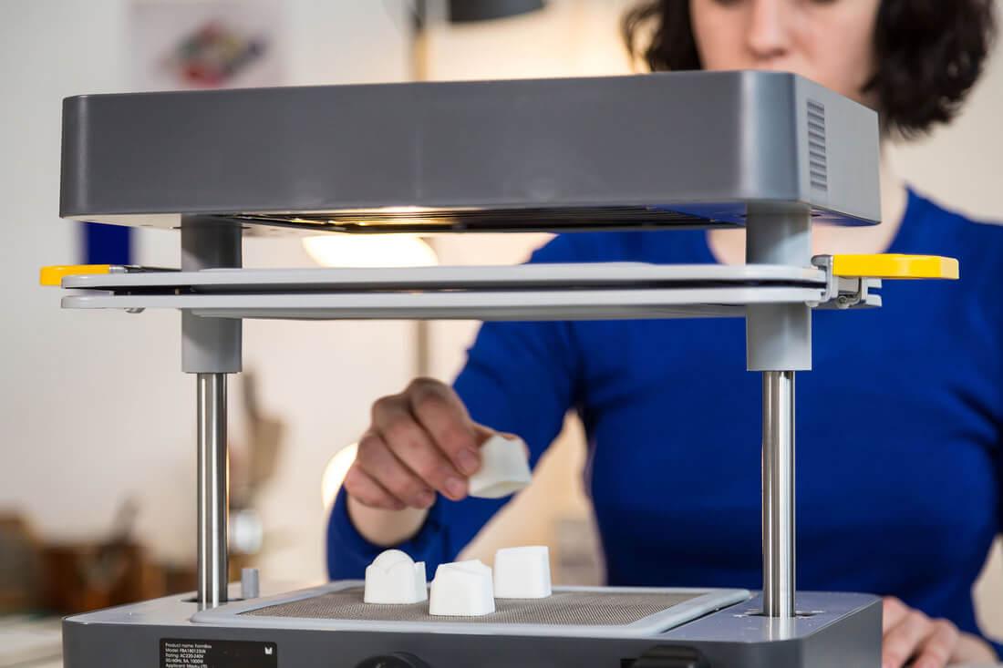 透過3D打印及真空成型吸塑DIY製作朱古力?