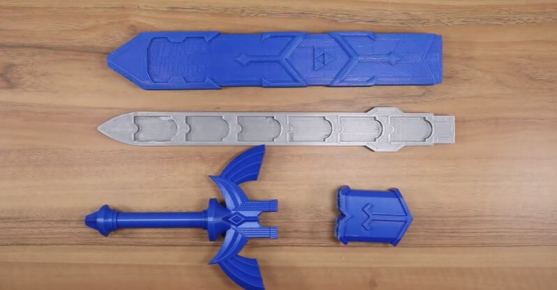 3D打印Master Sword,讓Nintendo Switch遊戲盒免受灰塵污染