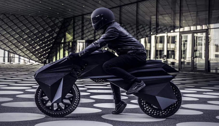 功能齊全的3D打印電動電單車