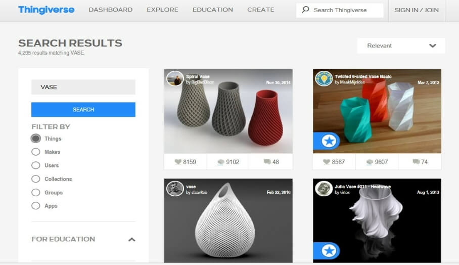 搜索3D模型仍然很麻煩?