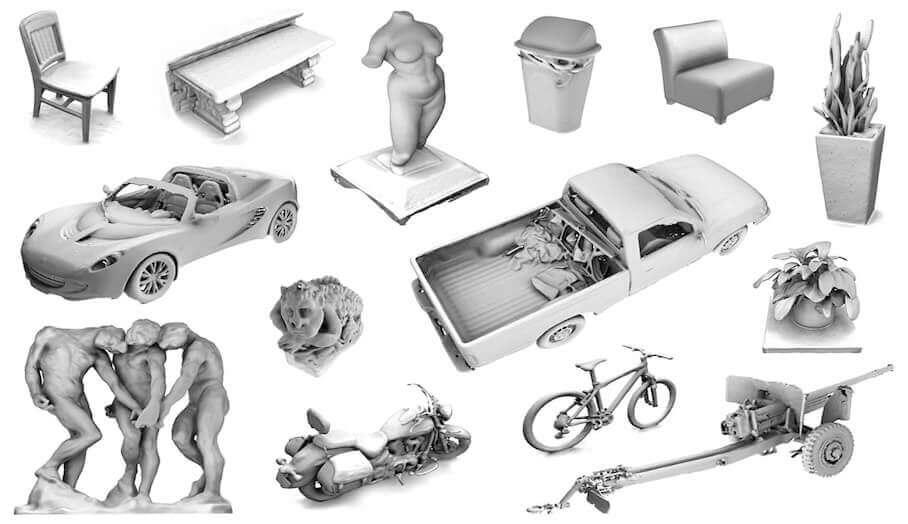 十項手持式3D掃描技巧