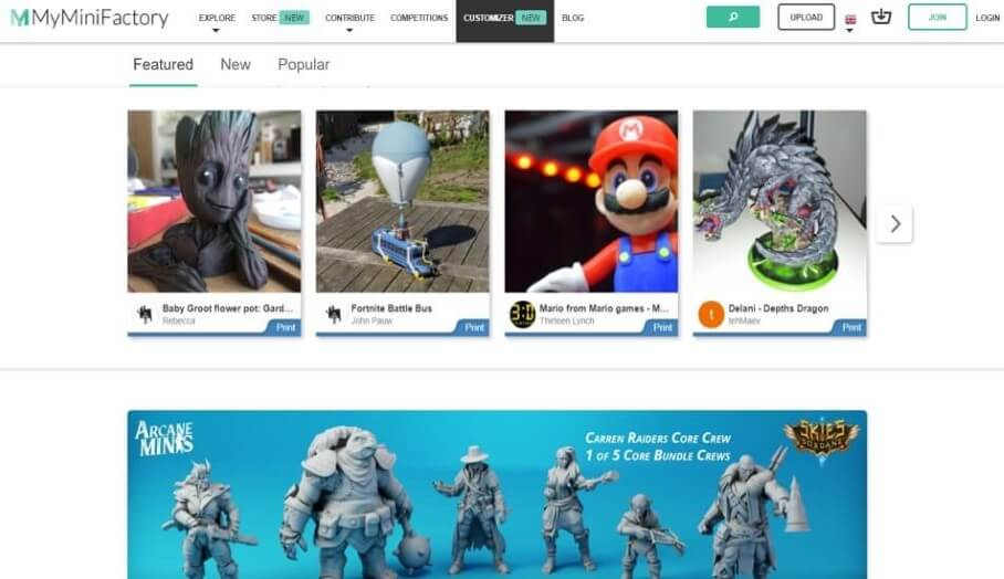 最新免費3D模型下載網站介紹