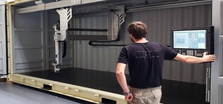結合5G的工業3D打印機?