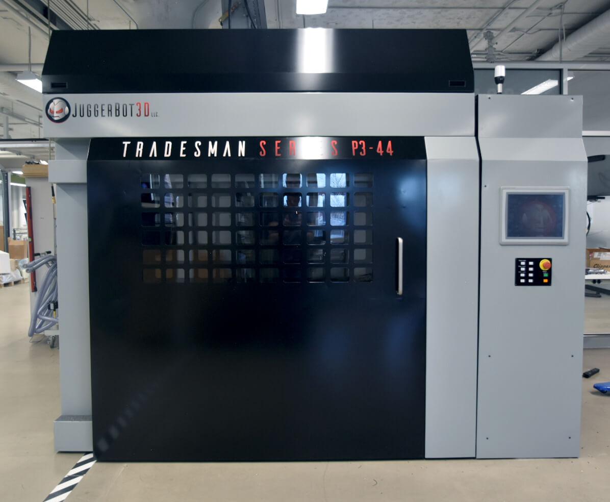 直接利用塑膠粒打印的工業3D打印機