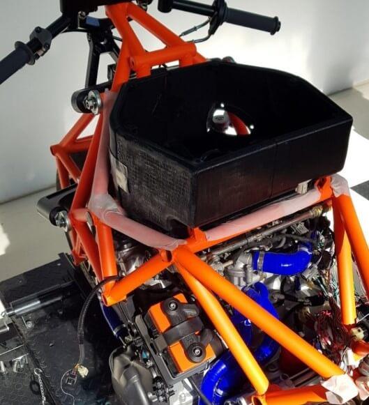 BOTT 1000 Morlaco:配備3D打印組件的超級電單車