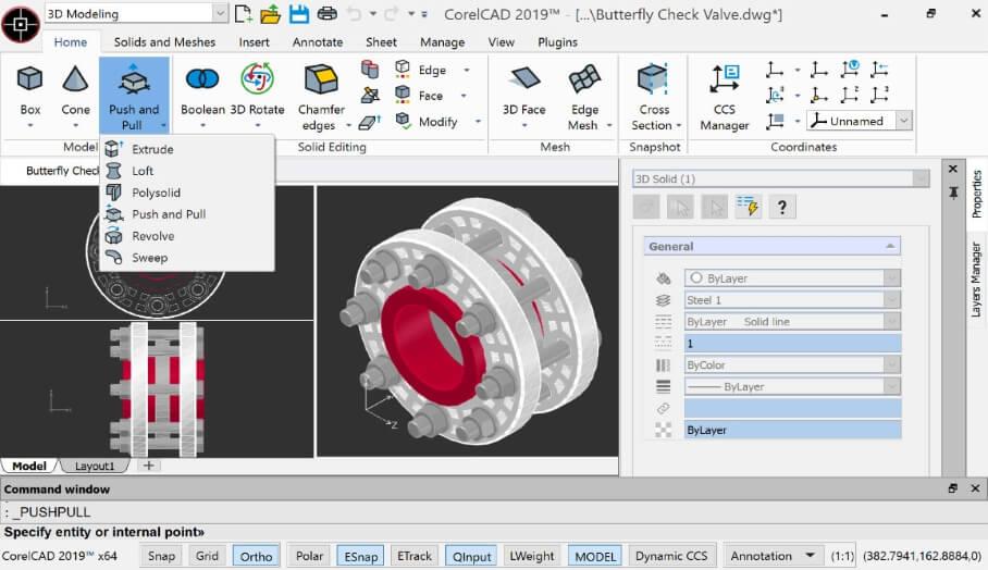 CorelCAD 2019加快2D繪圖,3D建模和技術設計