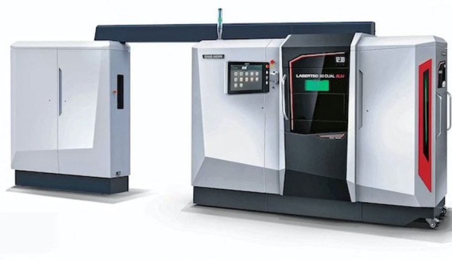 DMG Mori推出新型雙激光金屬3D打印系統