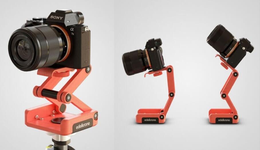 首個專業3D打印相機雲台面世?