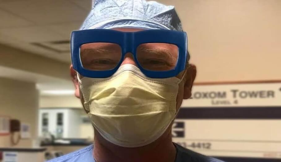眼鏡品牌Fitz幫醫護人員打造型格3D打印護目鏡