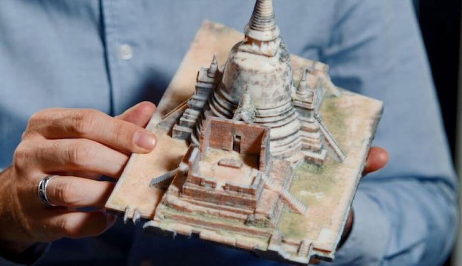 Google Arts and Culture利用3D打印技術,重建歷史文物
