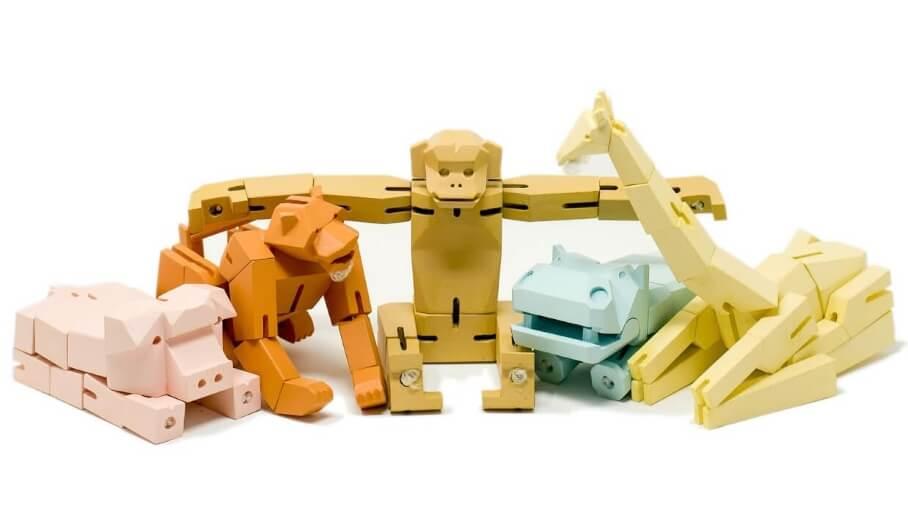 MōFU-具有設計風格的創新3D打印折疊玩具