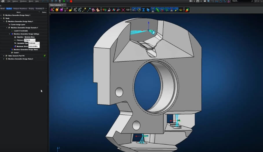 借助MSC Apex生成設計程序為3D打印節省更多時間