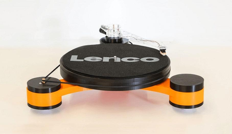 3D打印模組化唱機Lenco-MD在Kickstarter上推出