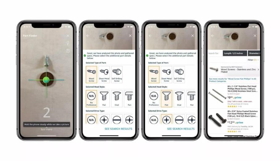 Amazon Part Finder -讓你輕鬆找尋螺絲種類