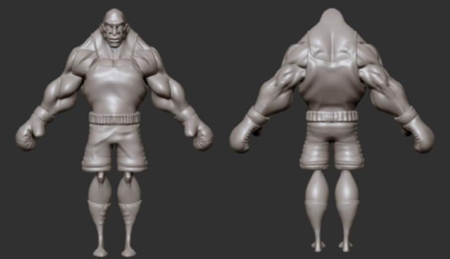 怎樣可以有效快速製作Action Figure 公仔3D模型?