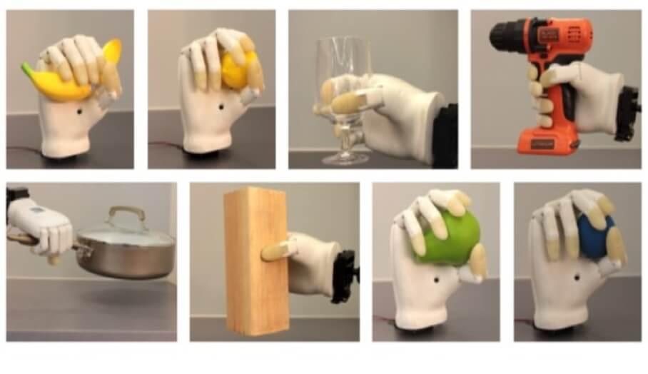 新式3D打印機械手