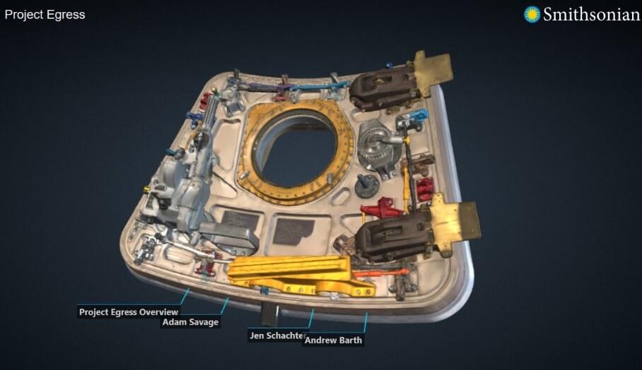 博物館3D掃描展覽品
