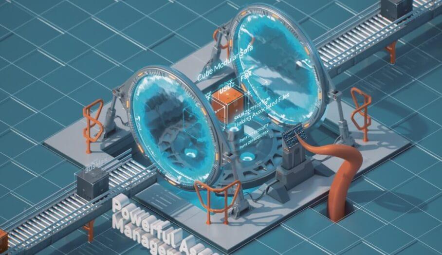 Turbosquid的Kraken升級了3D模型管理