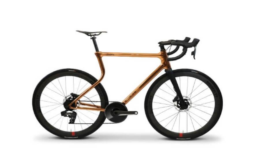 URWAHN和SCHMOLKE推出3D打印鋼製框架比賽單車
