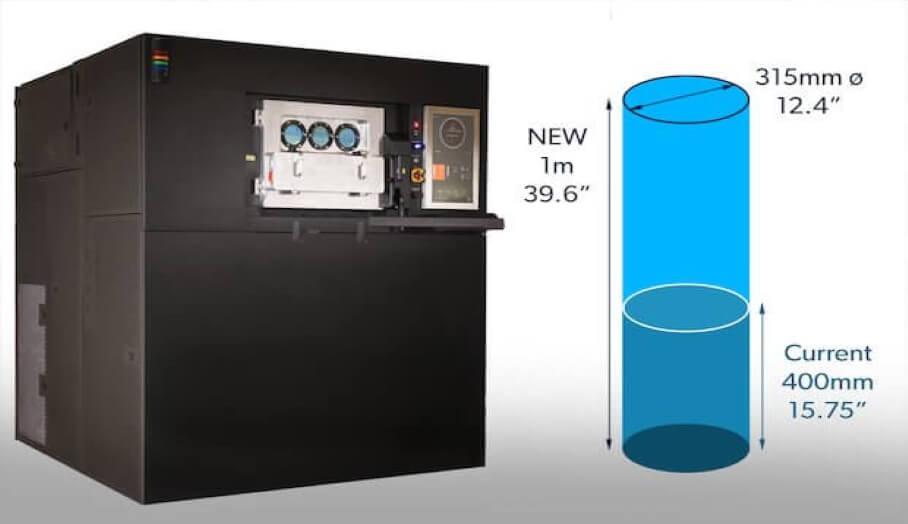 VELO3D宣布推出其新一代Sapphire金屬3D打印機,該打印機可以生產高達一米的金屬零件。 該機器將於2020年第四季度開始發貨,Knust-Godwin將成為該平台的第一個採用者。  Knust-Godwin已經是VELO3D Sapphire系統的用戶,並將繼續利用該公司的金屬3D打印機來製造石油和天然氣行業的最終用途零件。