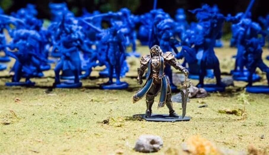 還原World of Warcraft史詩式戰場-齊集10000個3D打印模型人物的實景模型