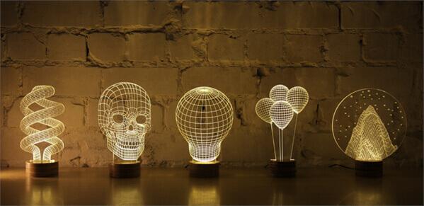 這些燈是2D還是3D?
