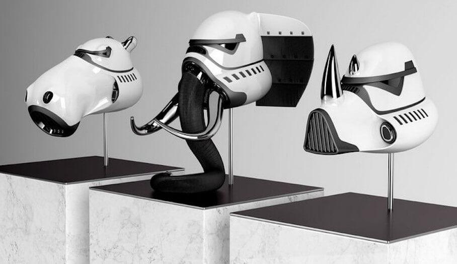 STAR WARS人物變身成3D動物