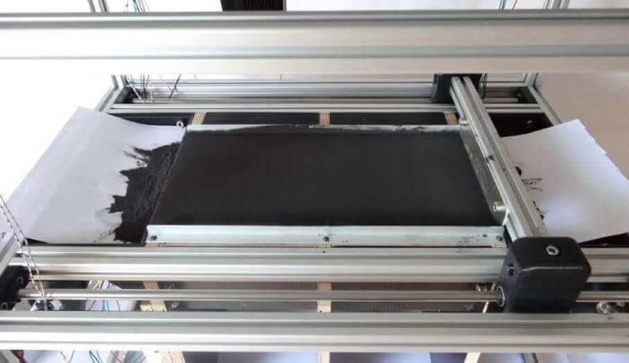 利用激光粉末的SLS 3D列印機也可以自己DIY?