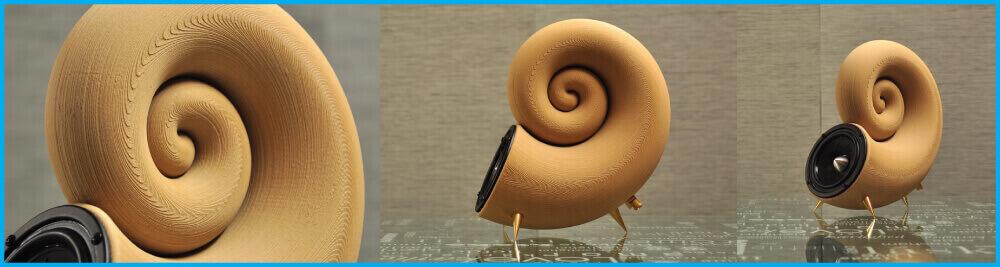 木製3D打印喇叭