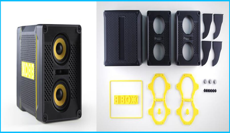 3D打印有利音響喇叭開發