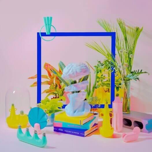 超現實3D打印攝影作品