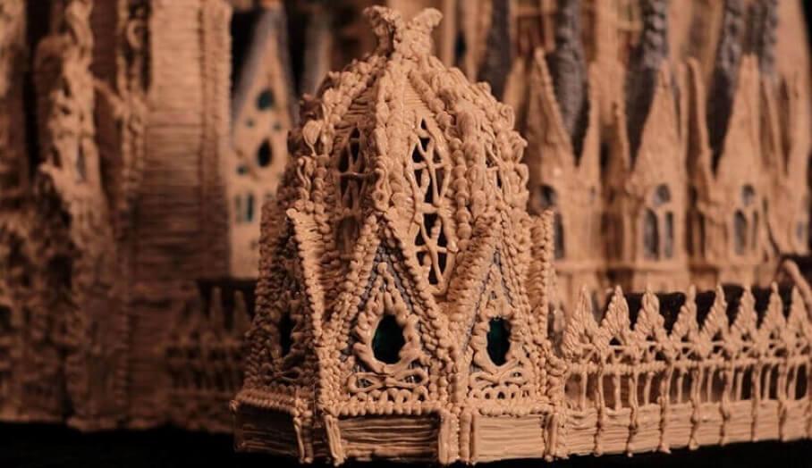 利用3D列印筆DIY 著名3D大教堂