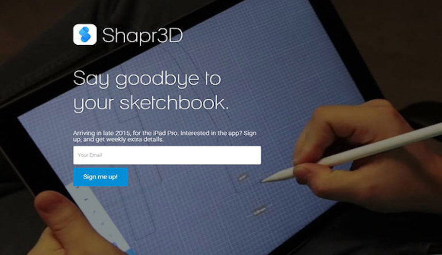 Shapr3D-專給iPad Pro用的3D軟件