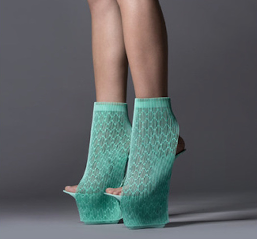 3D打印高踭鞋