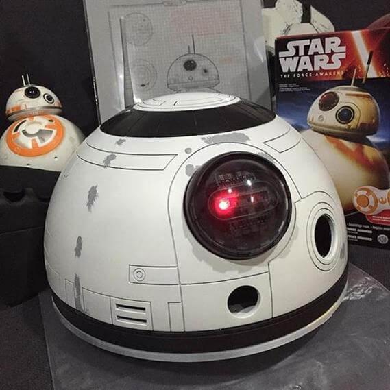 DIY 1比1大小的星球大戰BB-8 Droid機械人