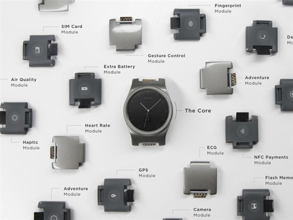 可自由配搭功能的3D打印智能手錶